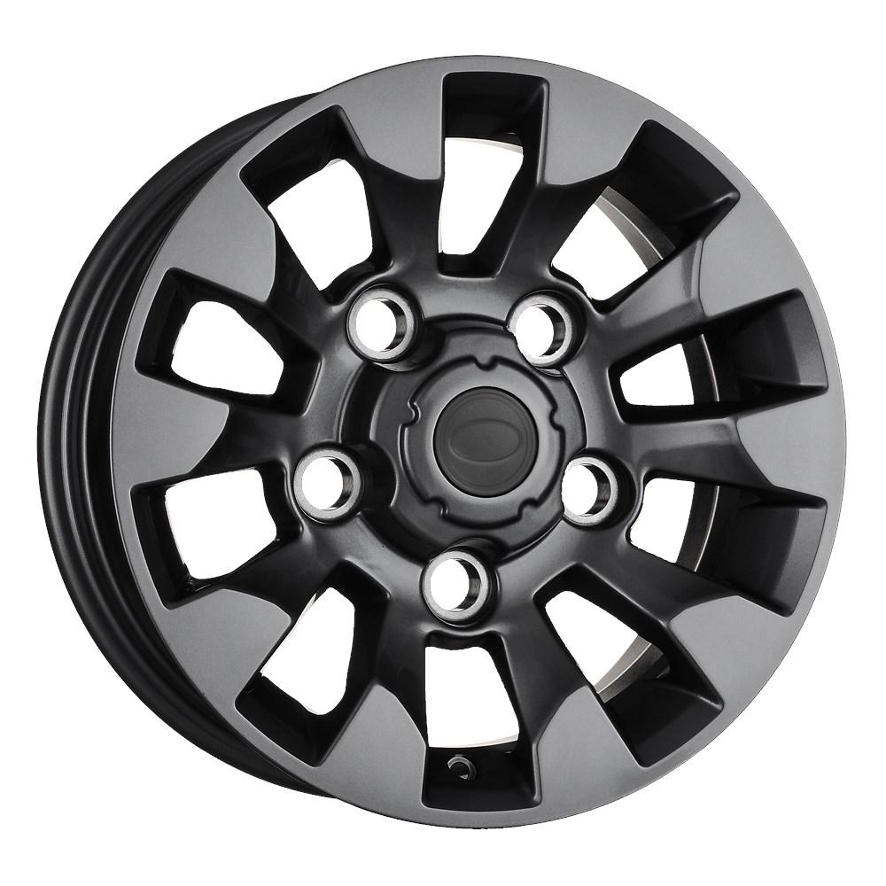 Land Rover Defender Gloss Black Sawtooth 7x 16 Alloys