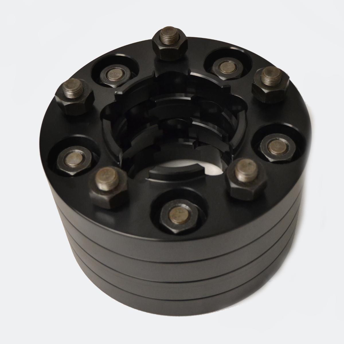 Land Rover Defender Wheel Spacers 30mm Black