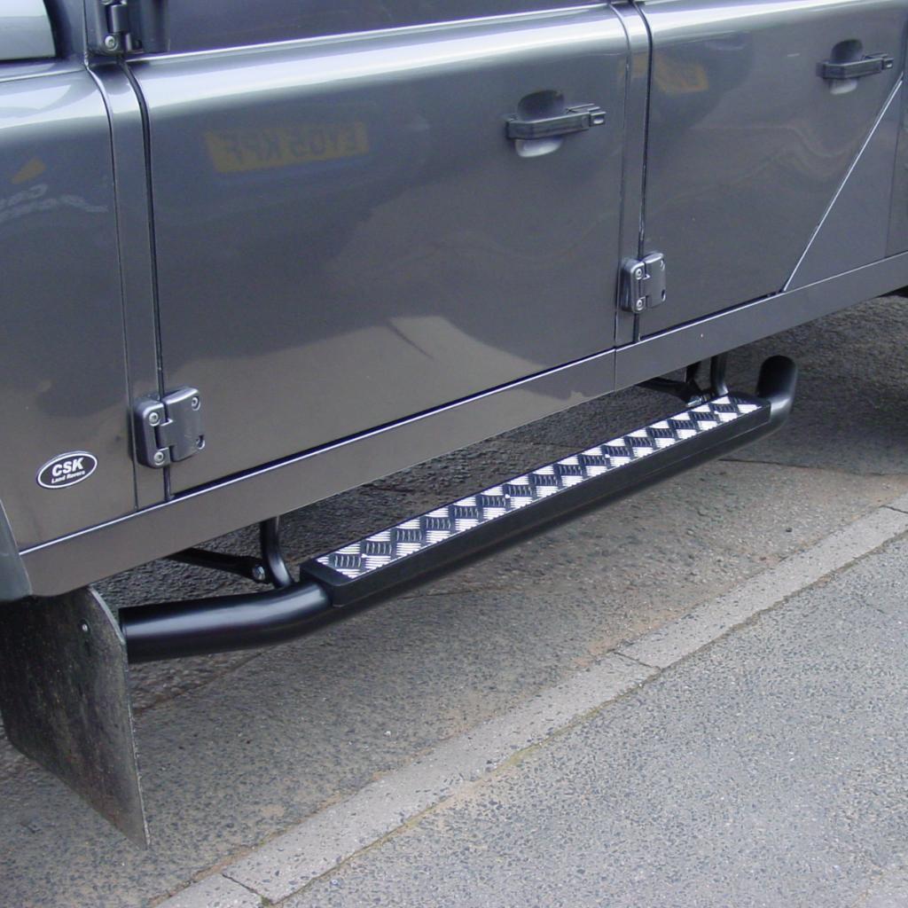 Land Rover Defender 130 Chunky Side Steps Defender Upgrades