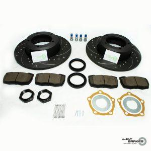 Defender 90,110,130 POWERspec Front SOLID Kit (91-16)